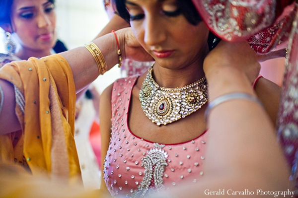 Indian wedding bride jewelry traditional in San Mateo, California Indian Wedding by Gerald Carvalho Photography