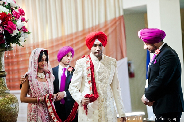 Indian wedding sikh traditional ceremony customs in San Mateo, California Indian Wedding by Gerald Carvalho Photography