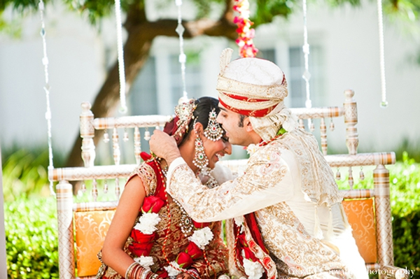 Indian wedding bride groom ceremony traditional in San Mateo, California Indian Wedding by Gerald Carvalho Photography