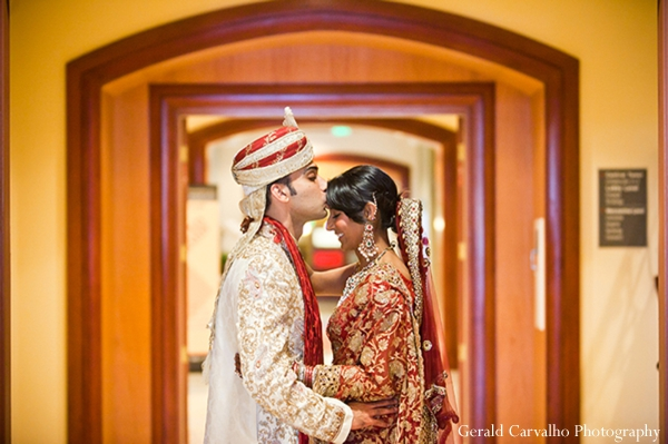 Indian wedding bride groom portraits in San Mateo, California Indian Wedding by Gerald Carvalho Photography