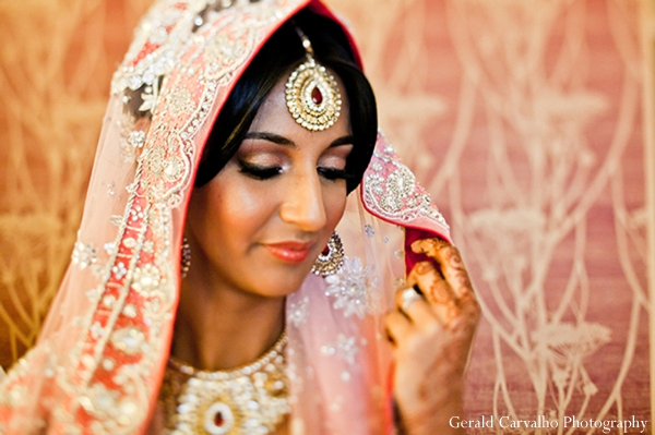 Indian wedding sikh traditional ceremony dress in San Mateo, California Indian Wedding by Gerald Carvalho Photography