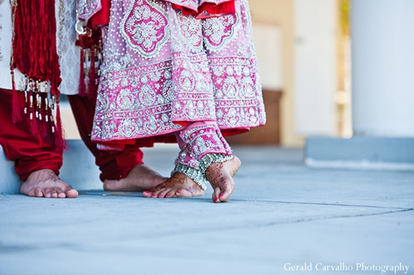 Indian wedding bride groom outdoor portraits in San Mateo, California Indian Wedding by Gerald Carvalho Photography