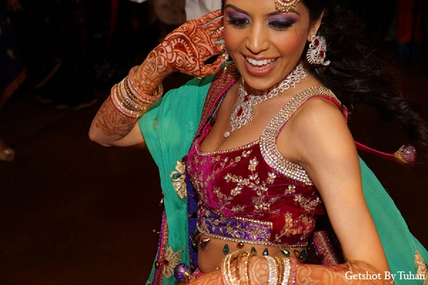 Indian wedding bride fashion sangeet in Newport Beach, CA Indian Wedding by Getshot By Tuhan