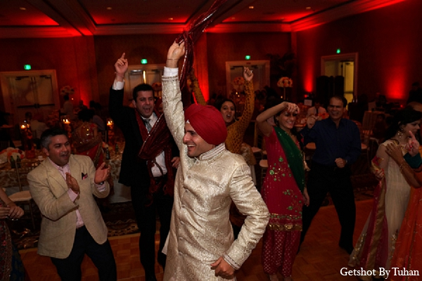 Indian wedding groom dance reception in Newport Beach, CA Indian Wedding by Getshot By Tuhan