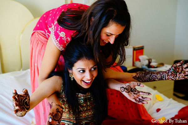 Indian wedding mehndi photography bride in Newport Beach, CA Indian Wedding by Getshot By Tuhan