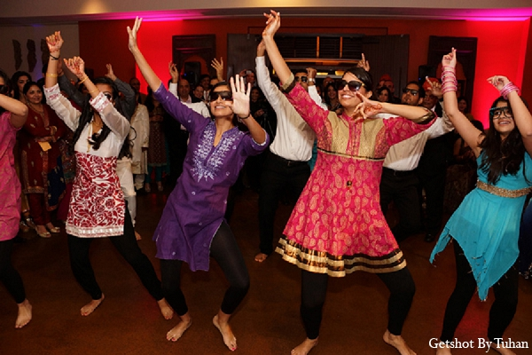 Indian wedding sangeet performers in Newport Beach, CA Indian Wedding by Getshot By Tuhan