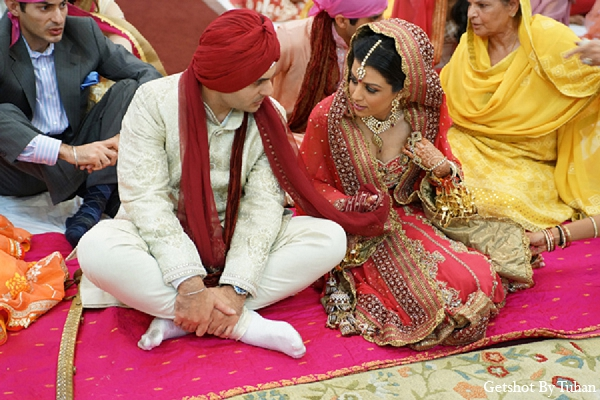 Indian wedding sikh bride groom ceremony in Newport Beach, CA Indian Wedding by Getshot By Tuhan