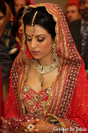 Indian wedding  sikh ceremony bride in Newport Beach, CA Indian Wedding by Getshot By Tuhan