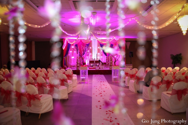 Indian wedding ceremony seating lighting in Agawam, Massachusetts Indian Wedding by Gio Jung Photography