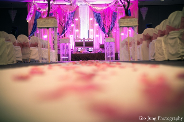 indian wedding ceremony seating lighting