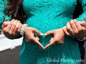 Indian Baby Shower Mom Heart Girl Photo 8621