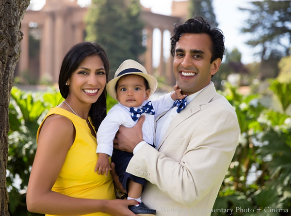 Indian family portraits mother father baby