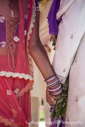 Indian wedding ceremony close up in Lahaina, HI Indian Wedding by Graham Chappell Photography