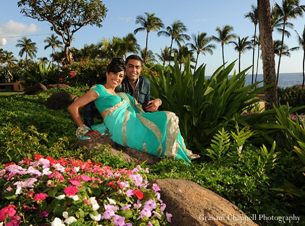 Indian wedding photography portraits in Lahaina, HI Indian Wedding by Graham Chappell Photography