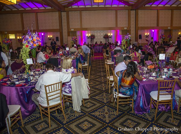 Indian wedding reception venue in Lahaina, HI Indian Wedding by Graham Chappell Photography