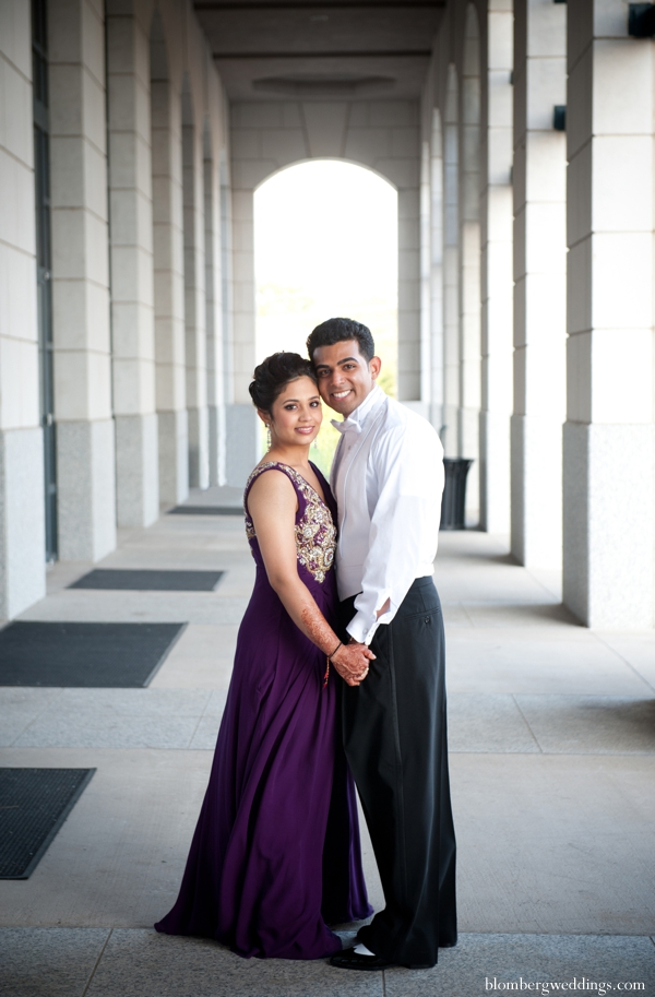 Indian wedding bride groom portrait copy in Dallas, Texas Indian Wedding by Greg Blomberg