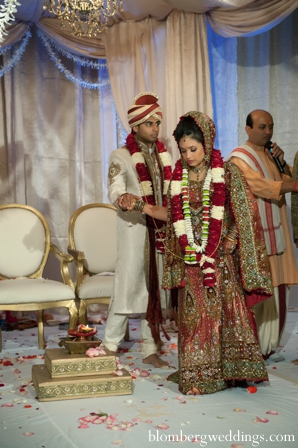 Indian wedding bride groom traditional ceremony in Dallas, Texas Indian Wedding by Greg Blomberg