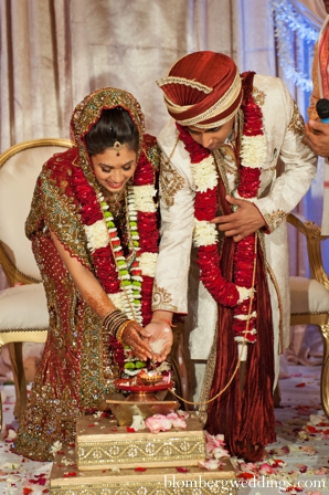 Indian wedding ceremony bride groom customs in Dallas, Texas Indian Wedding by Greg Blomberg