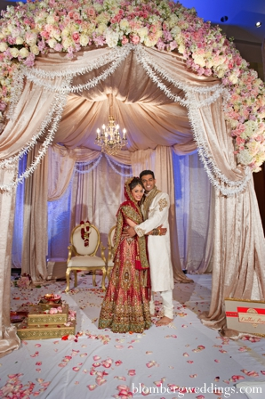 Indian wedding ceremony bride groom mandap in Dallas, Texas Indian Wedding by Greg Blomberg
