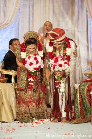 Indian wedding ceremony bride groom in Dallas, Texas Indian Wedding by Greg Blomberg