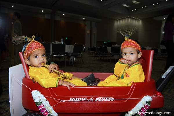 Indian wedding ceremony little boys in Dallas, Texas Indian Wedding by Greg Blomberg