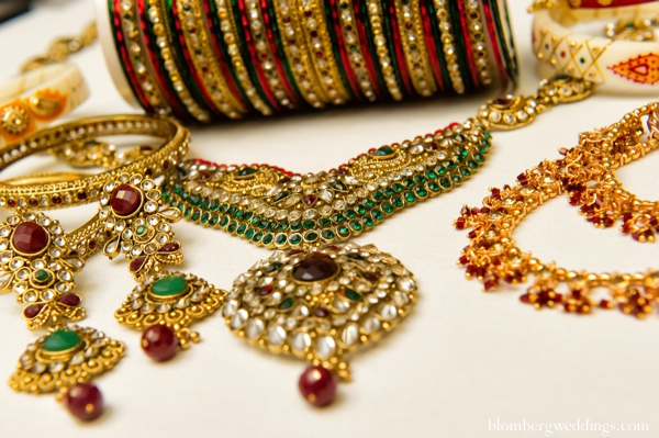 Indian wedding traditional ceremony jewelry in Dallas, Texas Indian Wedding by Greg Blomberg