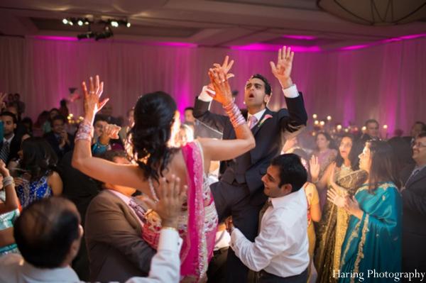 Indian Wedding Reception Dancing Dance Floor