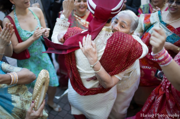 Indian wedding baraat street dancing celebration in Fort Lauderdale, Florida Indian Wedding by Haring Photography