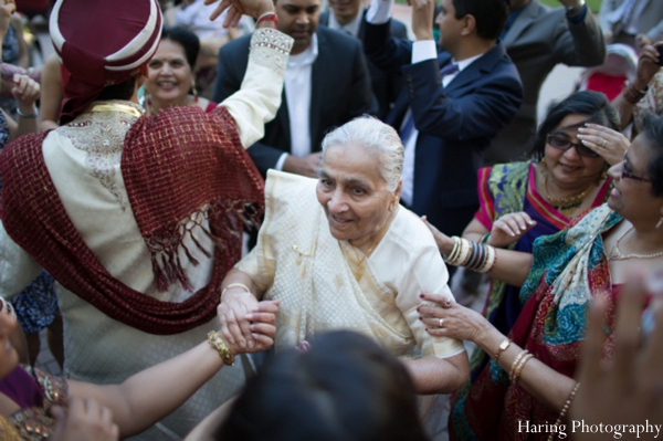 Indian wedding baraat traditional celebration in Fort Lauderdale, Florida Indian Wedding by Haring Photography