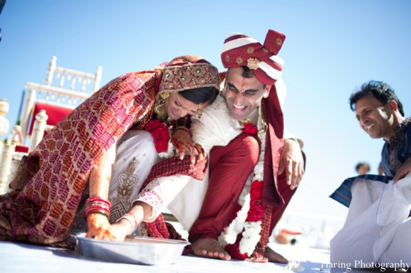 Indian wedding bride groom traditional ceremony rituals in Fort Lauderdale, Florida Indian Wedding by Haring Photography