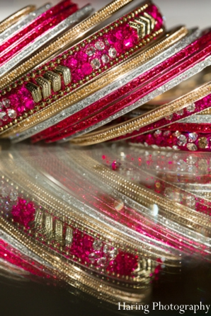 Indian wedding ceremony bangles in Fort Lauderdale, Florida Indian Wedding by Haring Photography