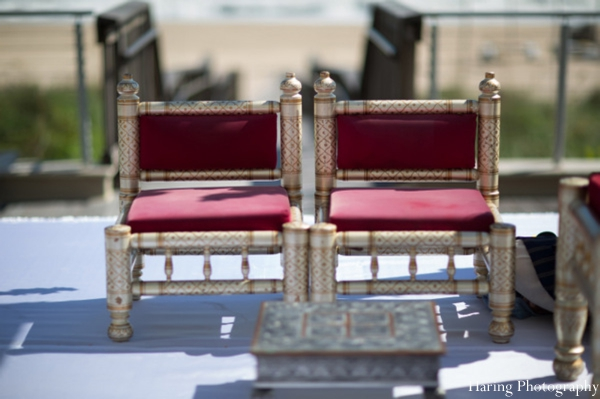 Indian wedding ceremony chairs in Fort Lauderdale, Florida Indian Wedding by Haring Photography