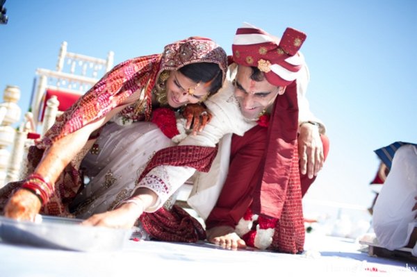 Indian wedding ceremony traditions rituals in Fort Lauderdale, Florida Indian Wedding by Haring Photography