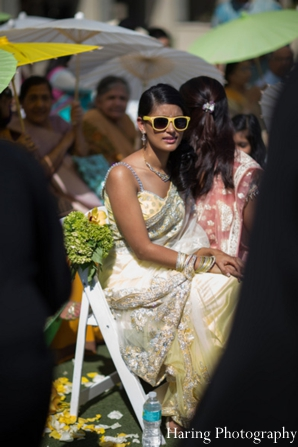 Indian wedding guest outdoor ceremony in Fort Lauderdale, Florida Indian Wedding by Haring Photography