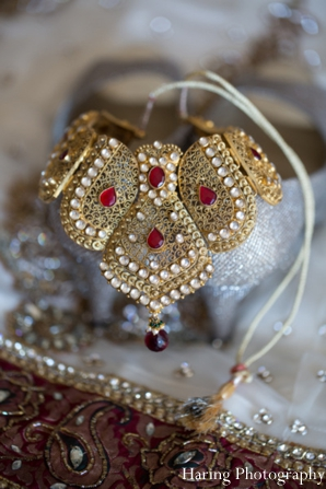 indian wedding jewelry necklace portrait