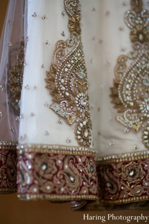 Indian wedding lengha traditional design bridal in Fort Lauderdale, Florida Indian Wedding by Haring Photography