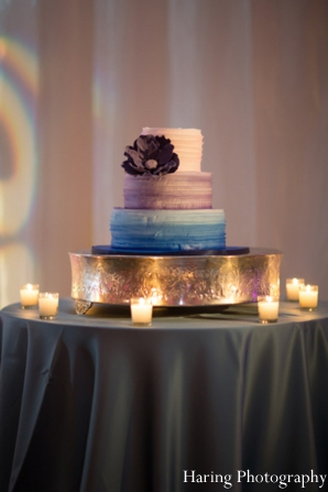Indian wedding reception cake ideas in Fort Lauderdale, Florida Indian Wedding by Haring Photography