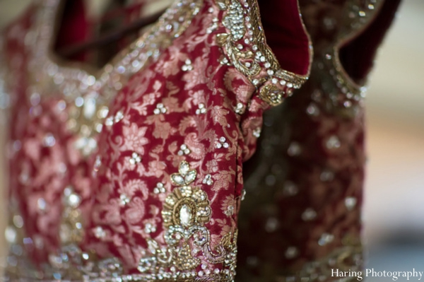 Indian wedding traditional lengha in Fort Lauderdale, Florida Indian Wedding by Haring Photography
