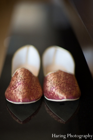 Indian wedding traditional shoes groom in Fort Lauderdale, Florida Indian Wedding by Haring Photography