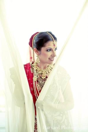 Indian wedding bridal portrait jewelry