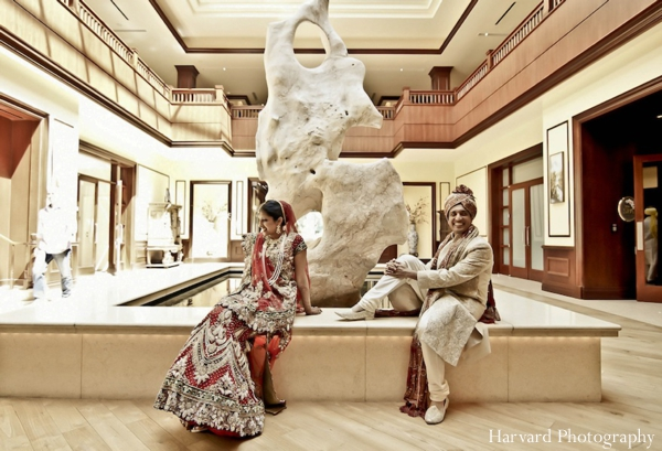 Indian wedding bride groom photograph