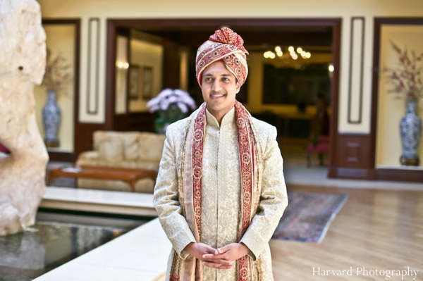 Indian wedding groom portrait traditional sherwani