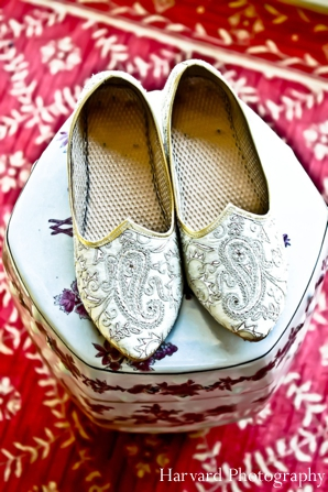 Indian wedding groom shoes traditional