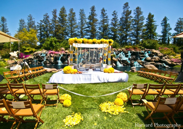 Indian wedding outdoor mandap inspiration