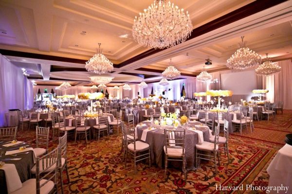 Indian wedding reception ball room