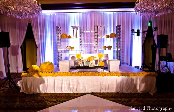 Indian wedding reception decor ideas
