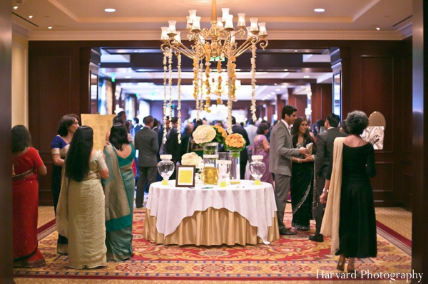 Indian wedding reception venue inspiration