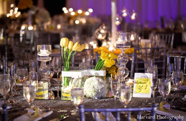 Indian wedding table setting decor