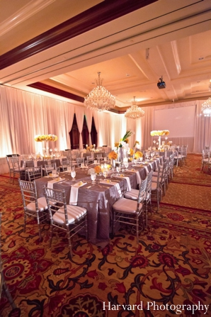 Indian wedding table setting reception