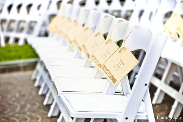 Indian wedding outdoor venue seating in Santa Monica, California Indian Wedding by Harvard Photography